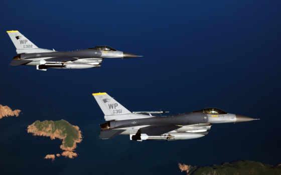 aviões, militares, parede