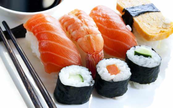 sushi, роллы, палочки, дары, salmon, япония,