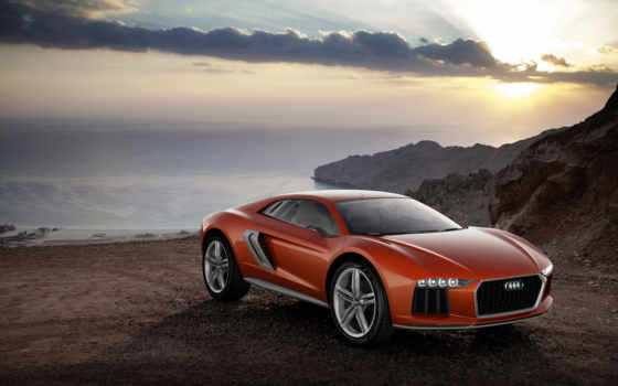 vehicle, ауди, concept, quattro, nanuk, car, frankfurt, hybrid,