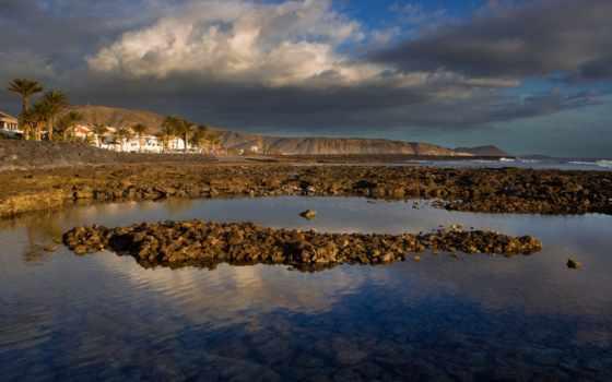 отражение, побережье