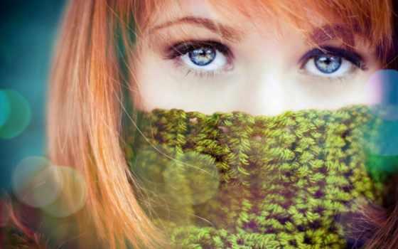 eyes, women