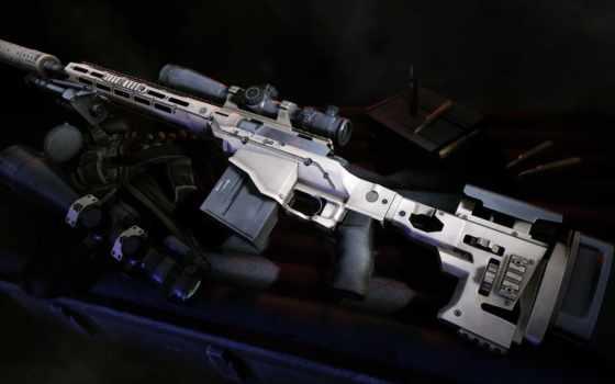снайпер, винтовка, воин