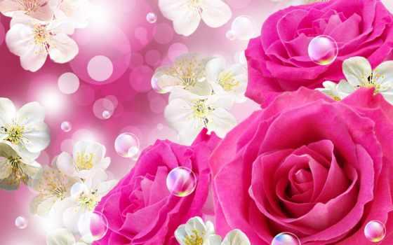 рождения, девушке, днем, открытки, postcard, красивые, красивая, дарлайк,