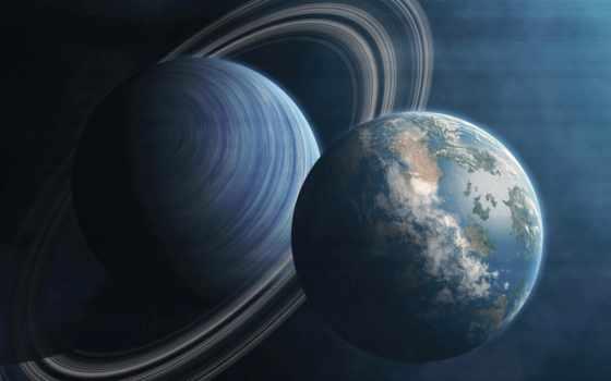 cosmos, планеты, чёрно, zoom, planet, бесплатные, космос, land, кольца,