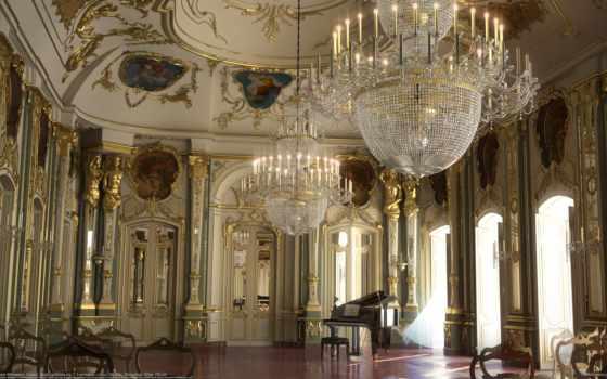 дворец, интерьер, версаль
