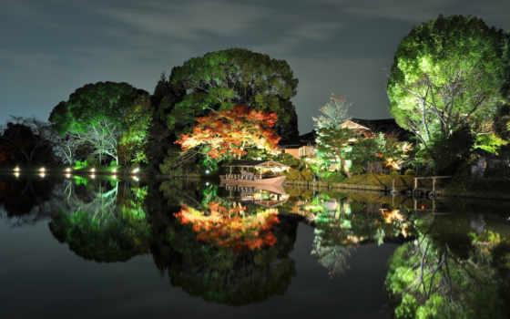 природа, широкоформатные, япония
