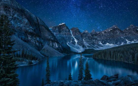 озеро, moraine, канада Фон № 148754 разрешение 1920x1080