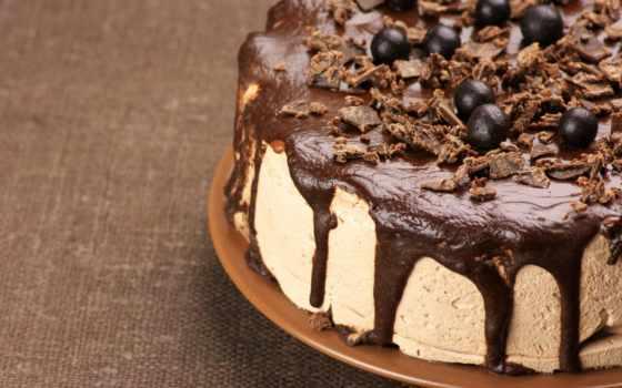 торт, chocolate, мороженое