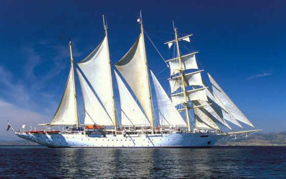 корабли, парусные, корабль