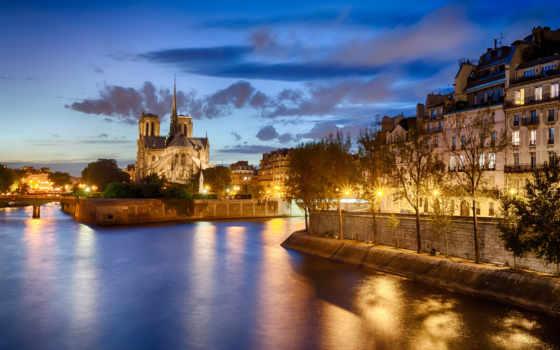 франция, париж, города