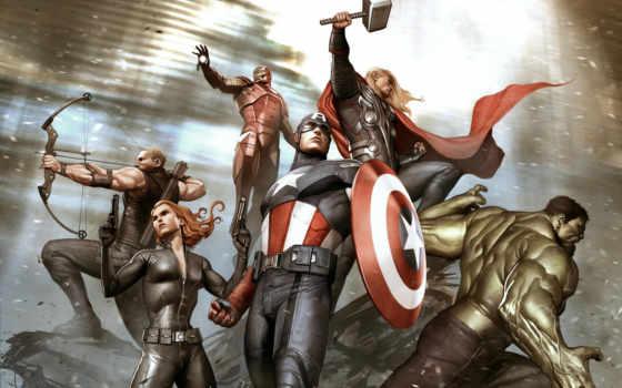 мстители, marvel, avengers