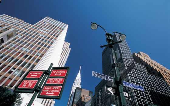 new, york, город, улица, usa, ny, огни, ночь, свет,