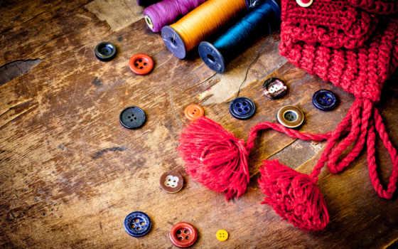 нитки, пуговицы, шапка, ссср, старый, пошив, wooden,