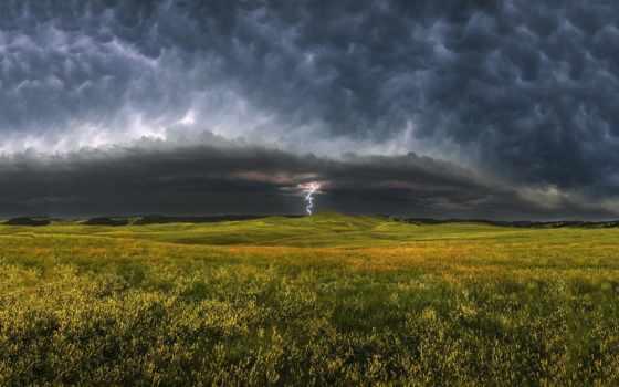 dakota, южная, природы, штормовые, oblaka, злость, соединенные, штаты, пейзажи -, штата,