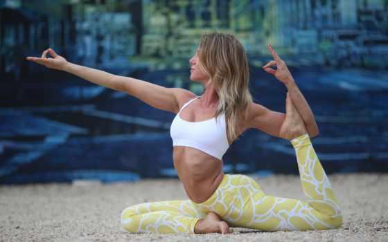 девушка, фотографий, поза, себе, she, начинающих, йоги, йога, упражнения, йогой,