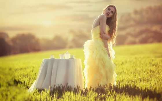 невеста, pablo, кана, поле, stand, фотограф, модель, russian, karol, девушка