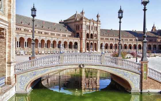севилья, города, испания