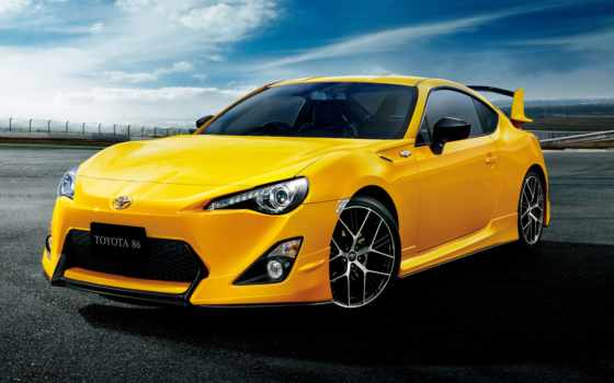 toyota, yellow, limited, car, package, aero,