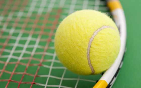мяч, ракетка, tennis