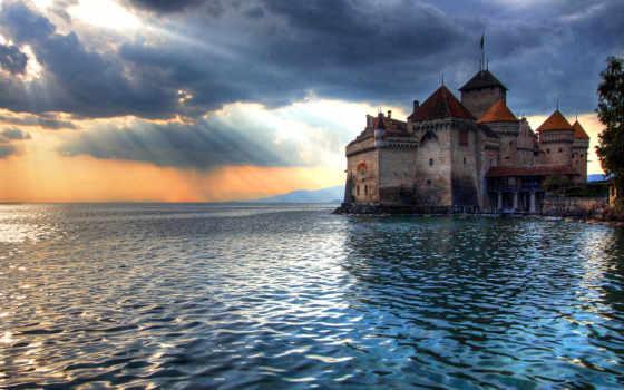 chillon, швейцарии, которые, монтрё, map, их, европы, коллекция, exit, боги,