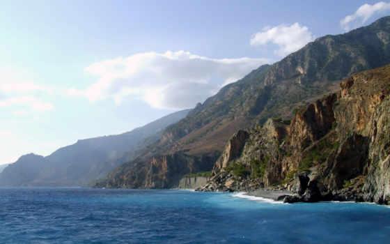 море, горы, природа Фон № 65330 разрешение 1920x1200
