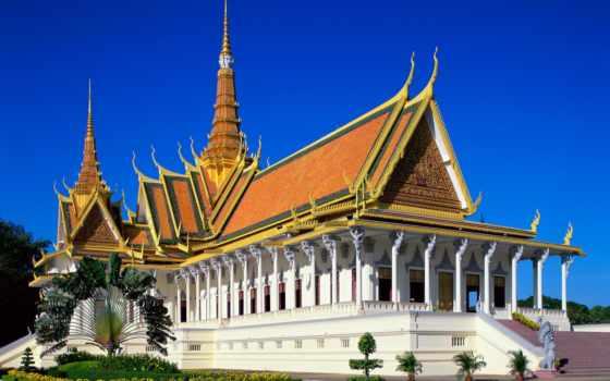 cambodia, дворец, royal, камбоджи, kingdom, пномпене,