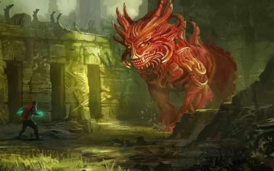 art, дракон, fantasy