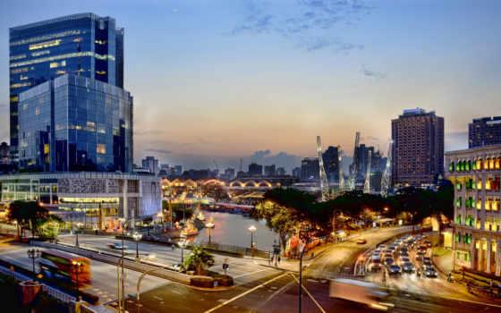 singapore, quay, clarke