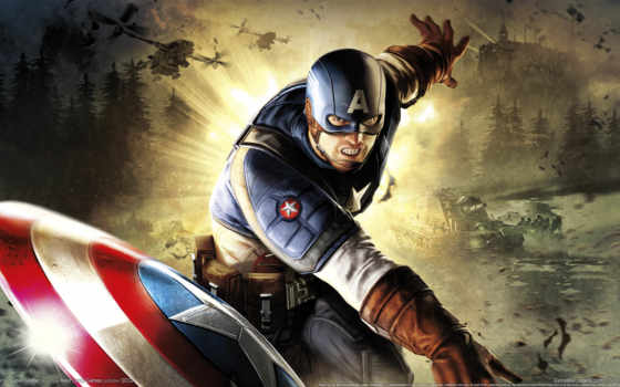 captain, america, супер
