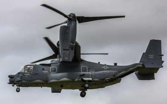 картинка, авиация, сша, море, bell, osprey, конвертоплан, пехоты, потерпел,