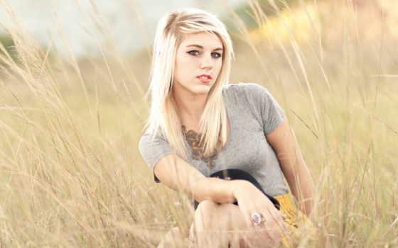 blonde, модель, девушка, summer, this, views,