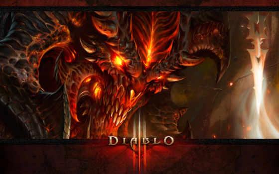 diablo, iii Фон № 28073 разрешение 1920x1080