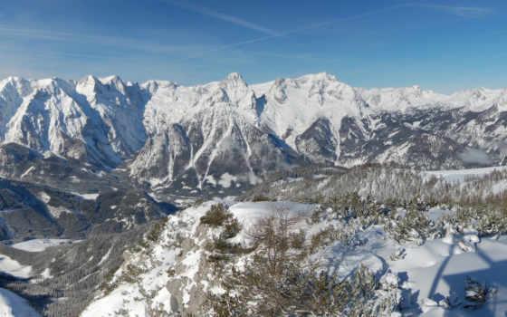 горы, австрия, высота