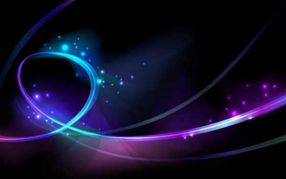 neon, свечение, линии