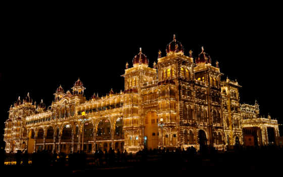 mysore, дворец, vilas