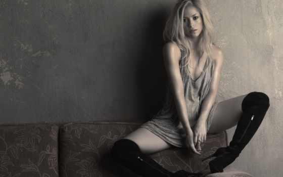 shakira, blondes, women, celebrity,