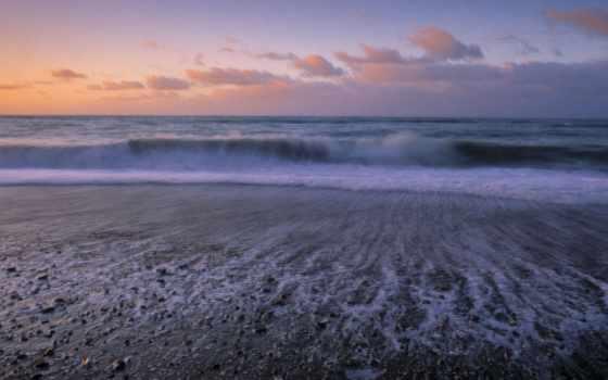 playa, pantalla, fondos