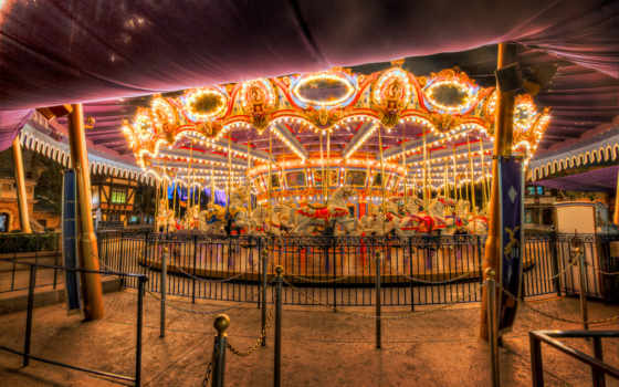 carousel, vintage, flickr, free,
