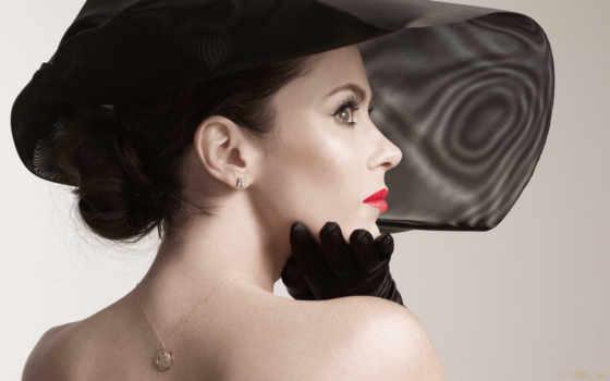 шляпе, девушка, afilias, шляпа, брюнетки, загадочная, she, black, everything, one,