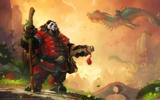 warcraft, world, панда, характер, wow
