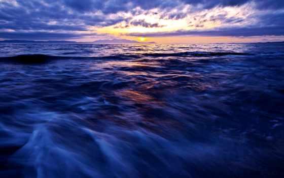 море, небо, горизонт