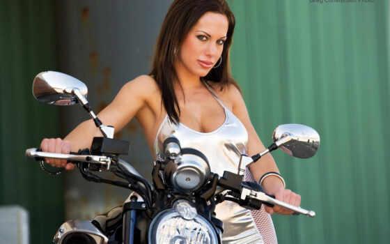 devushki, мотоциклах, девушек
