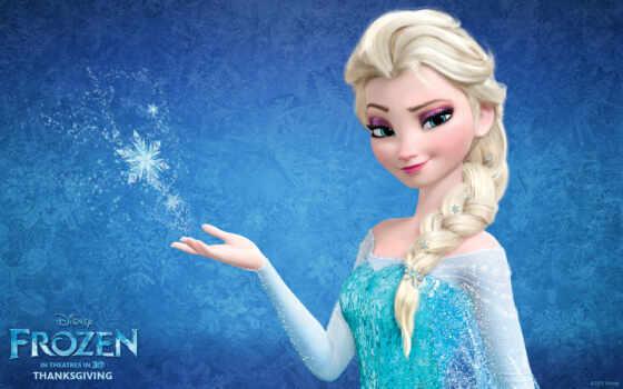 frozen, холодное, сердце