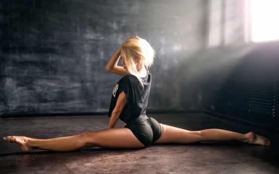спорт, шпагат, девушка, гимнастика, pechkurov, anton, atelier,