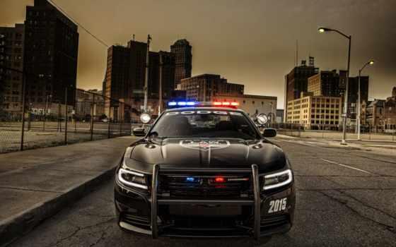 dodge, charger, police, pursuit, модель, new, служит, уже, американским, задолго,