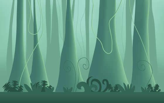 минимализм, джунгли Фон № 9300 разрешение 1920x1200