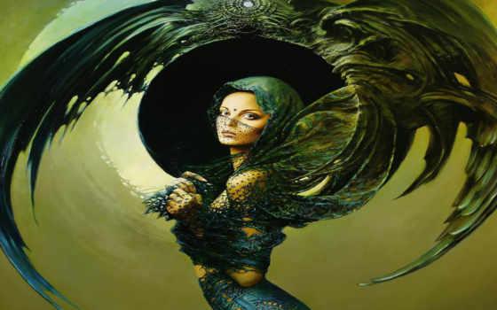 девушка и крылья