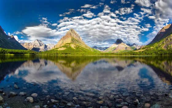 озеро, park, пейзажи -