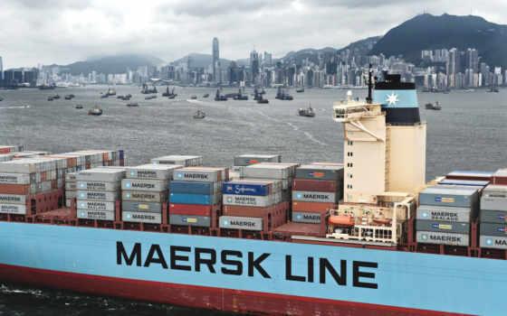 maersk, line, far, восток, container,