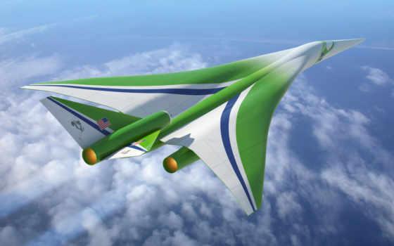 будущего, самолеты, nasa